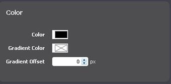 Font Color Properties