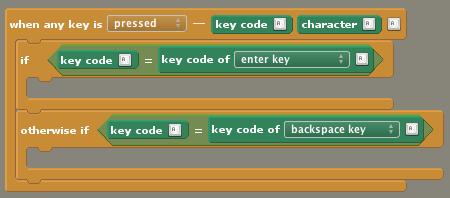 Keycode Example