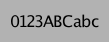Regular Font
