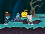 Play Halloween Bat Blaster, a Stencyl-made game
