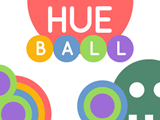 Play Hue Ball, a Stencyl-made game