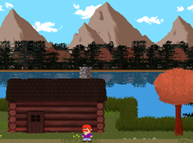 Play Lakeview Cabin, a Stencyl-made game