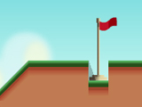 Play Minigolf Pro, a Stencyl-made game