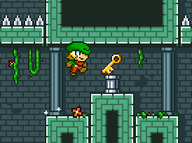 Play Super Dangerous Dungeons, a Stencyl-made game