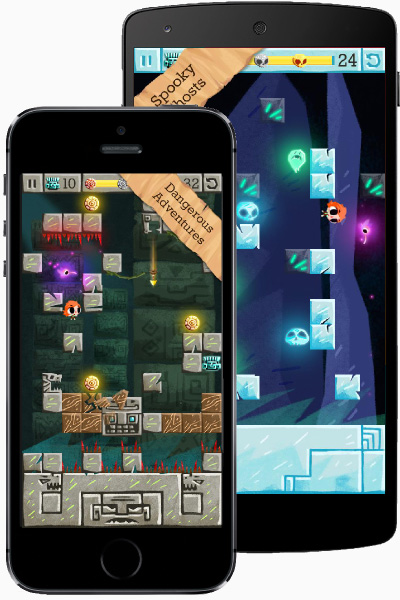 Design Once, Play Anywhere with Stencyl - Zuki's Quest on iOS and Android